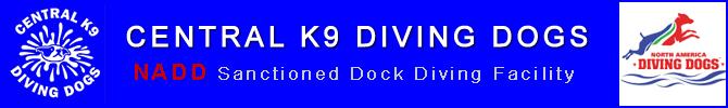 Central K9 Diving Dogs Logo